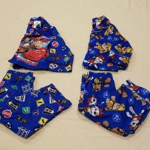 Disney Cars & Nickelodeon Paw Patrol Flannel PJs